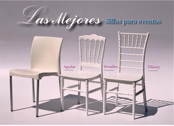 Venta de sillas tiffany bubble y versalles para tus eventos for Sillas para eventos