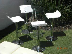 Periqueras de cristal en renta para eventos