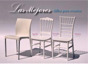 venta y renta de sillas tiffany para eventos