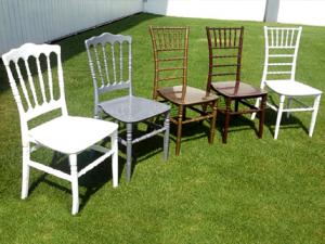 Venta de sillas tiffany para eventos