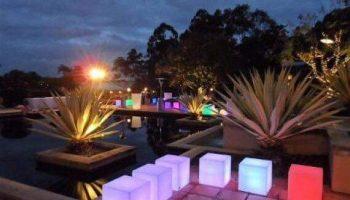 mobiliario iluminado para eventos