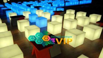 salas lounge vip evento cubos