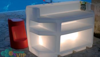 Barra Iluminada Miami Salas Lounge Vip