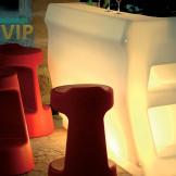 Barra Iluminada Salas Lounge Vip