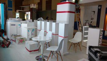 Mobiliario para expos